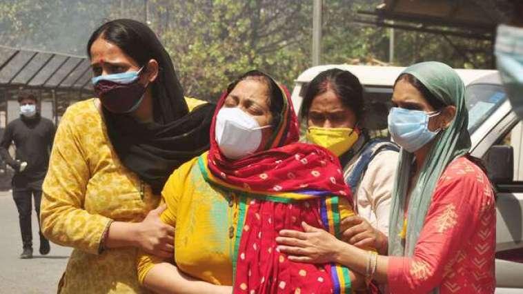 Le Royaume-Uni envoie trois unités de production d'oxygène à l'Inde