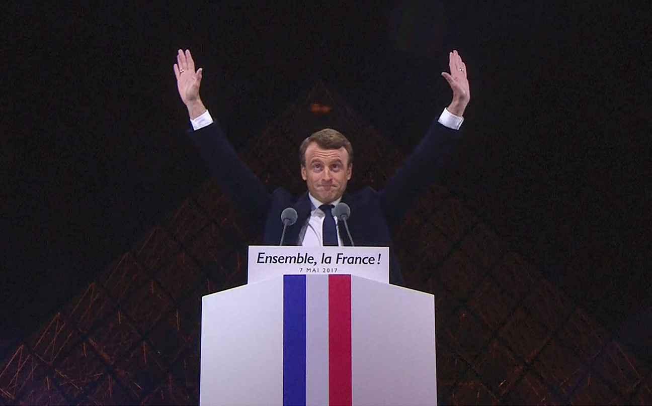 Image result for la victoire de macron