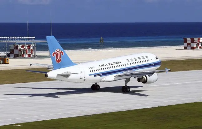 Illustration d'un avion de la China Southern Company.