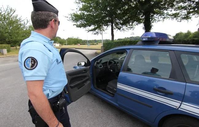 Illustration d'un contrôle de gendarmerie en Loire-Atlantique.