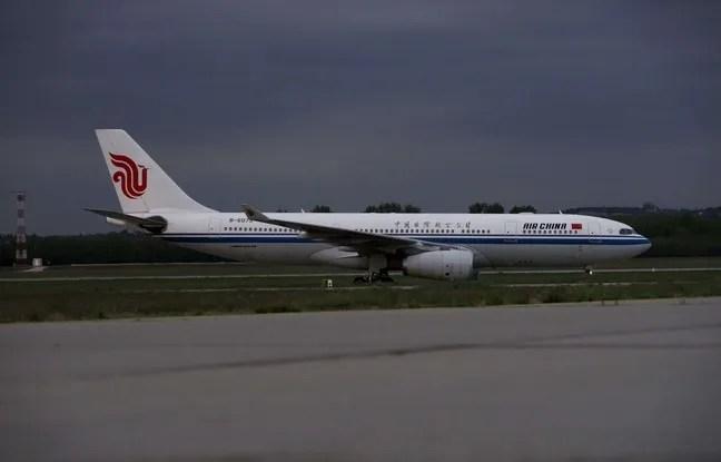 Un avion de la compagnie chinoise Capital Airlines.
