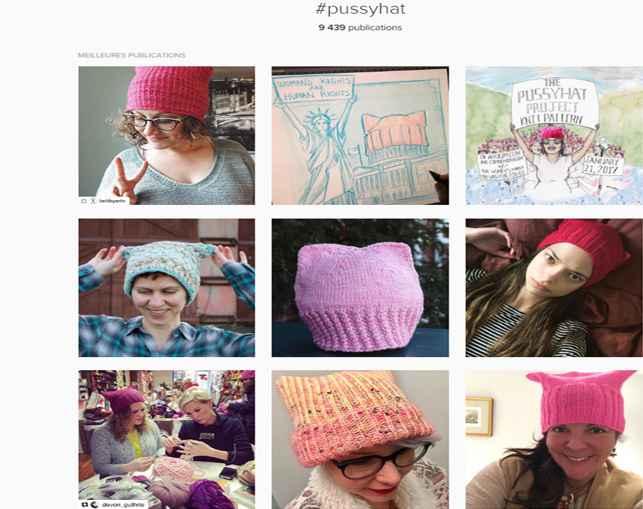 Une armée de «Pussy Hat» se lève aux Etats- Unis