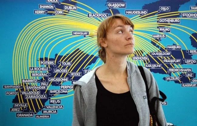 Illustration du programme d'échange étudiant européen Erasmus.