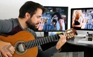 """Résultat de recherche d'images pour """"guitare à la télé"""""""