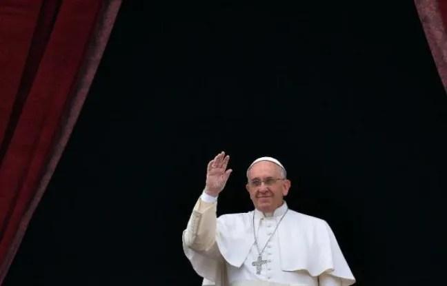Le pape François, le 25 décembre 2014 au Vatican