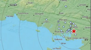 """""""Dull sound, shaking place"""" … On Wednesday, Vannes was shaken by an earthquake"""