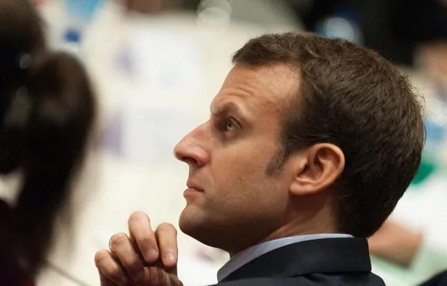 Le ministre de l'Economie Emmanuel Macron, le 6 novembre 2015 à Rennes.
