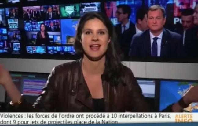 Appoline de Malherbe sur la chaîne BFM TV, le 1er mai 2016.