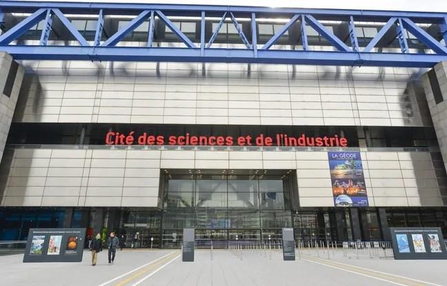 La Cité de sciences de Paris en mars 2015