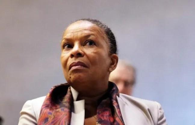 La ministre de la Justice Christiane Taubira, le 10 février 2015 à New York