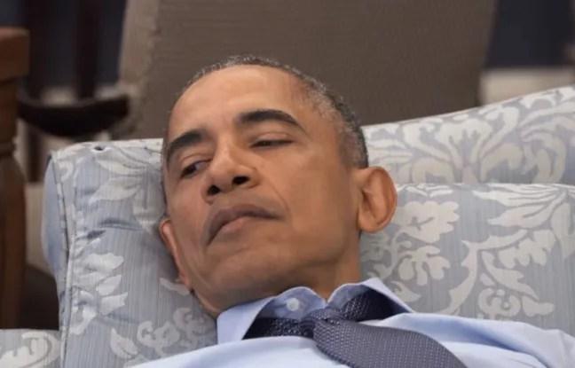 Barack Obama dans une vidéo humoristique.