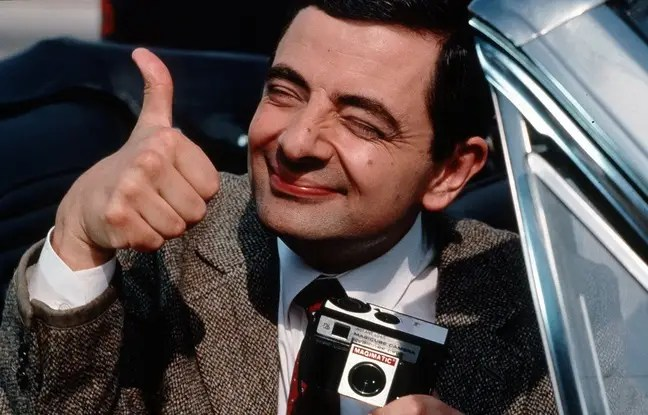 Mr Bean, illustration.
