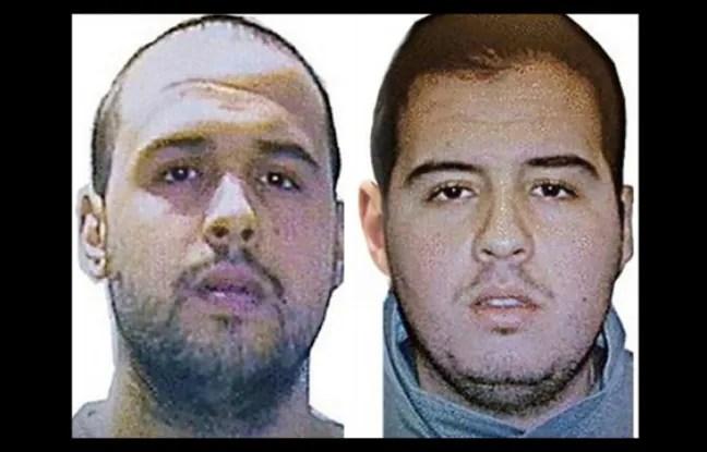 Khalid (à gauche) et Ibrahim El Bakraoui.