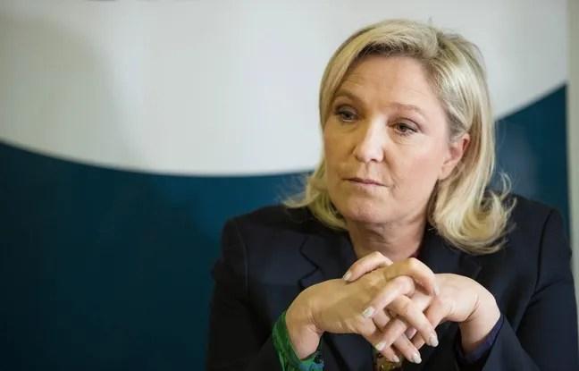 Marine Le Pen, présidente du FN, le 19 février 2016 à Paris.