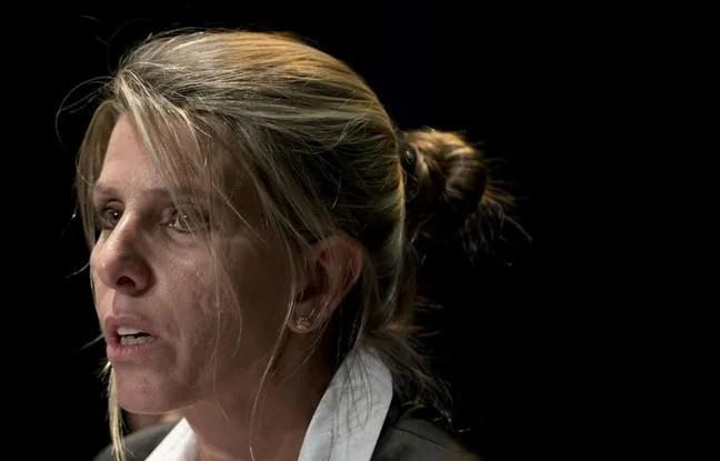 L'ex femme du procureur Nisman pendant une conférence de presse à Buenos Aires, le 5 mars 2015.