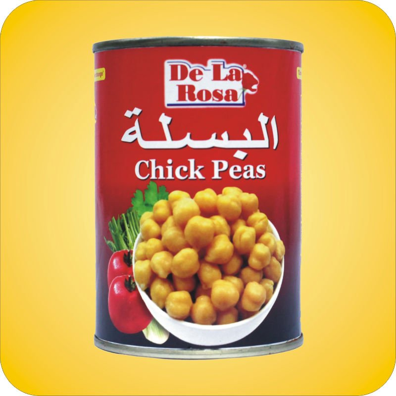 Label Canned Chickpeas