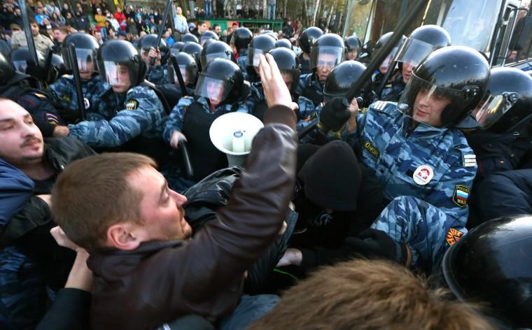 Zavargások AFP PHOTO