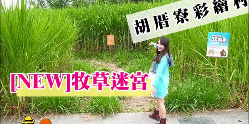 【台南景點】善化輕旅行:胡厝寮彩繪村→牧草迷宮→善化糖廠