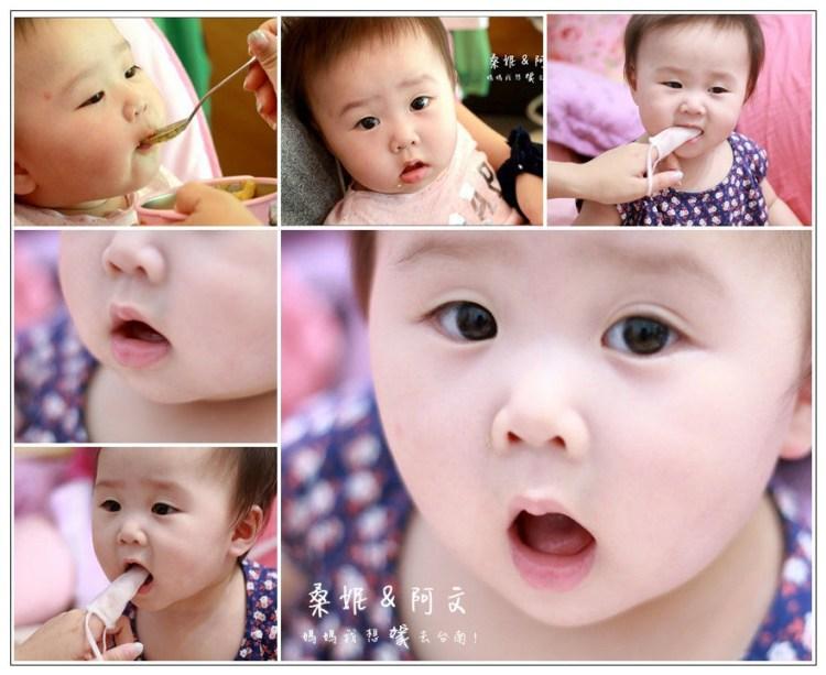  育兒(文末抽獎) 《KS凱恩絲》100%蠶絲的Baby牙刷,讓妞寶開始養成刷牙好習慣~