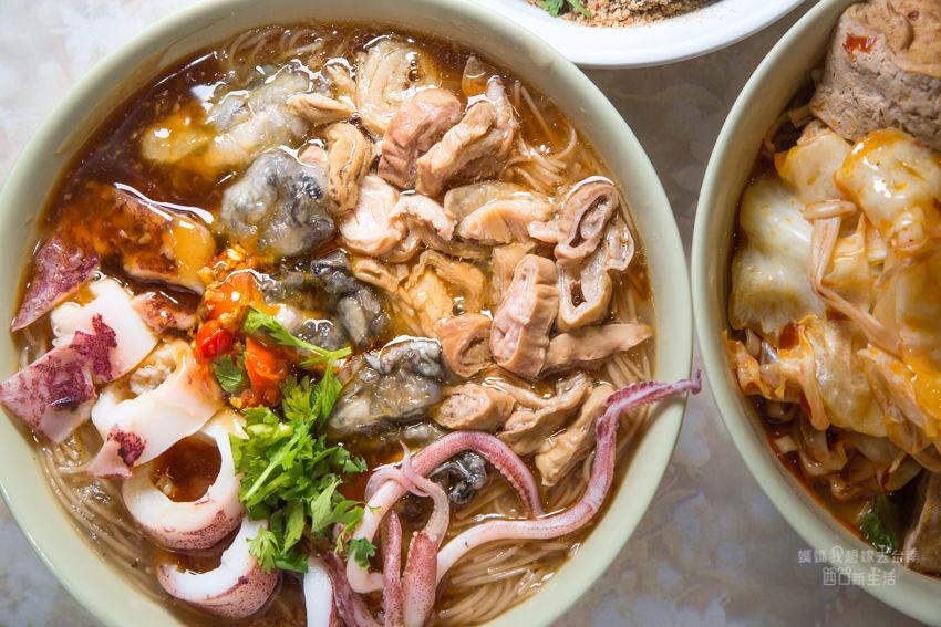 【台南美食】成大學區美食推薦,料多豐富的兩丿麵線!台南也吃的到北部口味,麻辣臭豆腐也好吃