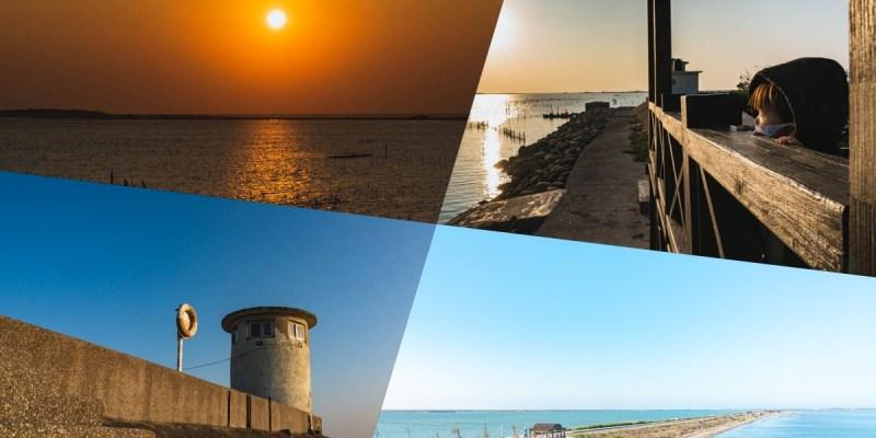 【台南景點】七股觀海樓! 360度,各個時間可看見不同的美景!