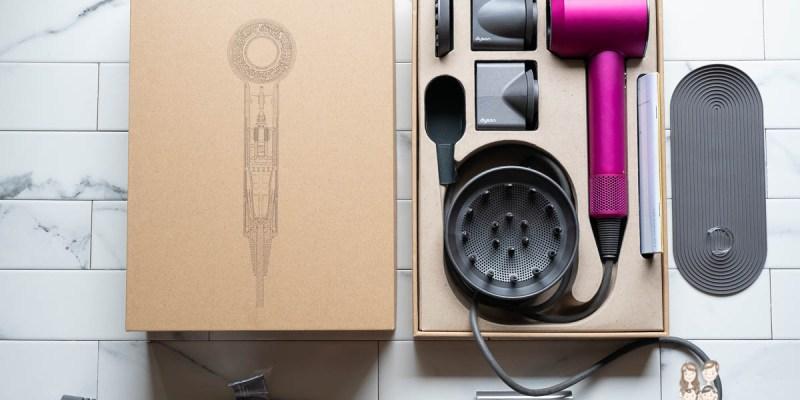 【小家電】女孩們的夢幻逸品,dyson 戴森 Supersonic HD03 吹風機禮盒組,還有專用透氣圓形髮梳及順髮梳(獨家色)!
