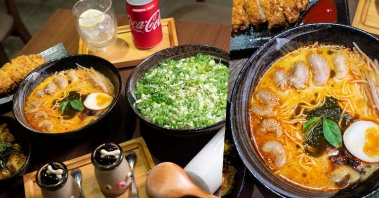 【台南拉麵】山禾堂拉麵,超特別的「雞佛拉麵」套餐來囉~免費加麵兩次、無低消的拉麵店!
