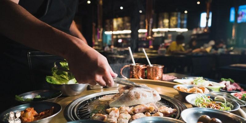 【台南燒肉】新店來啦,有專人桌邊代烤!大口吃肉小菜吃到飽!咚飽飽韓國烤肉BoBo Korean BBQ