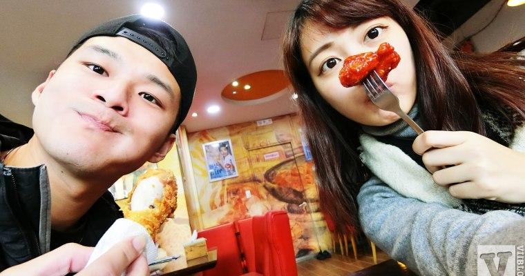 釜山美食|廣安大橋旁的BBQ炸雞비비큐치킨,兩種口味一次滿足