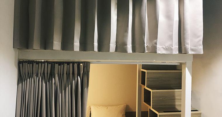 高雄住宿|紙飛機高雄青年旅館,經濟實惠的雙人床上下舖