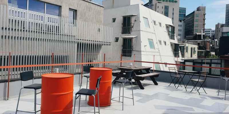 首爾住宿|弘大平價、交通方便、附早餐的青年旅館BUNK HOSTEL