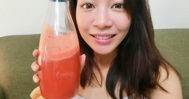 生活選物 督促自己多喝水的環保極輕玻璃Retap水瓶,時尚實用多達12色可選擇