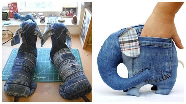 Souvenir jeans lucu dan lucu