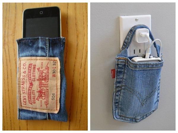 Kasus-tas untuk pengisian telepon - diciptakan dengan cemerlang!
