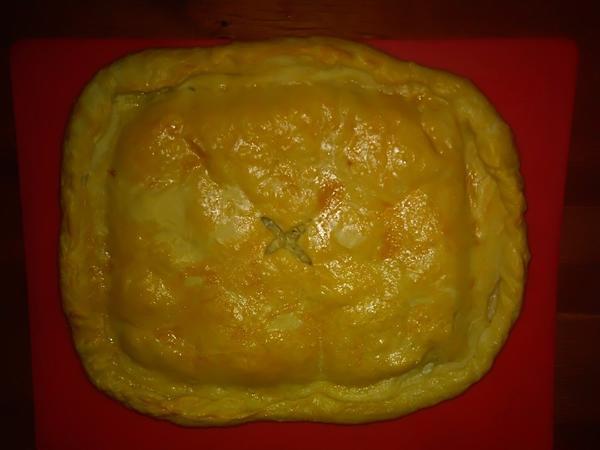 Рыбный пирог - пошаговый рецепт приготовления с фото