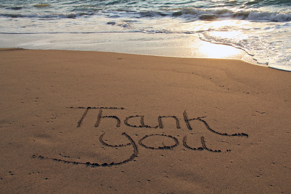 Gratitude and being happy