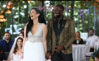 Mireasa 2021, sezonul 3. Blaze și Izabela s-au căsătorit civil. Prima imagine după momentul unic