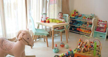 【絕美與實用玩具收納與外出神車|美國B.Toys幼兒家具&美國Radio Flyer折疊拉車】