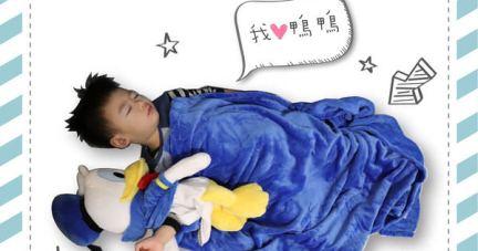 【美國Zoobies迪士尼3 in 1玩偶毯&兒童睡袋 | 暖暖入眠】
