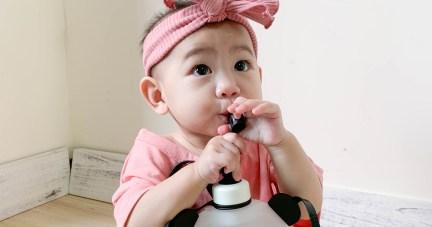 1904A136 韓國氣質大蝴蝶結寶寶髮帶