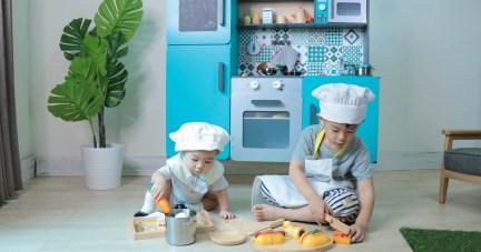【法國Janod+日本ED Inter最美廚房玩具系列 | 從0歲玩到12歲百玩不膩好玩具】