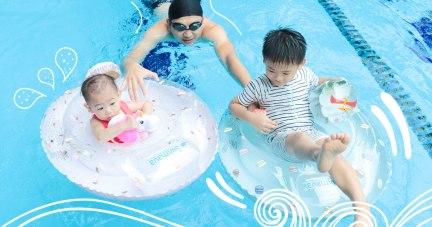 【寶寶泳圈使用心得 | 英國Swimava泳圈浮手/西班牙Oil&Carol天然橡膠戲水玩具/美國Sweetooth 冰淇淋固齒器(可冰凍)】