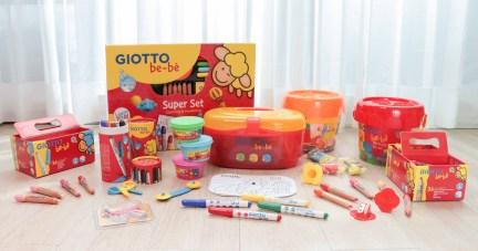 【從繪畫開始了解孩子|義大利GIOTTO bebe全系列:可洗式無毒蠟筆、彩色筆、黏土】