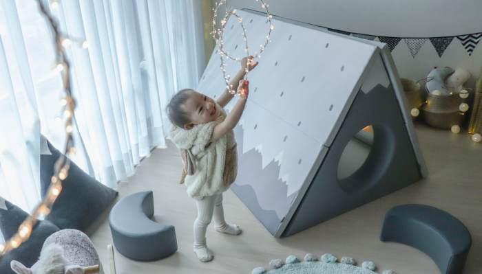【長達五年心得!安心耐用推薦|韓國第一品牌Alzipmat折疊遊戲地墊。圍欄。帳篷小屋。迪士尼圍欄地墊。收納小沙發。迪士尼睡袋】