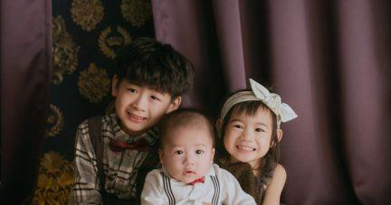 【生日。收涎。全家福美好紀念|BabyPURE寶寶攝影寫真】