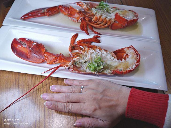 20190128180143 2 - 熱血採訪│食尚玩家推薦的台中日式料理在哪?現撈龍蝦入菜,用餐時刻人潮不少