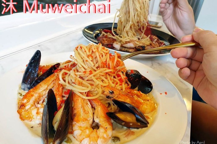 一中商圈美食|沐 Muweichai-專賣輕食沙拉、義大利麵