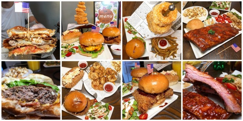 [台南美食] Sk尚恩廚房 - 道地美式餐廳激推超多肉汁漢堡!