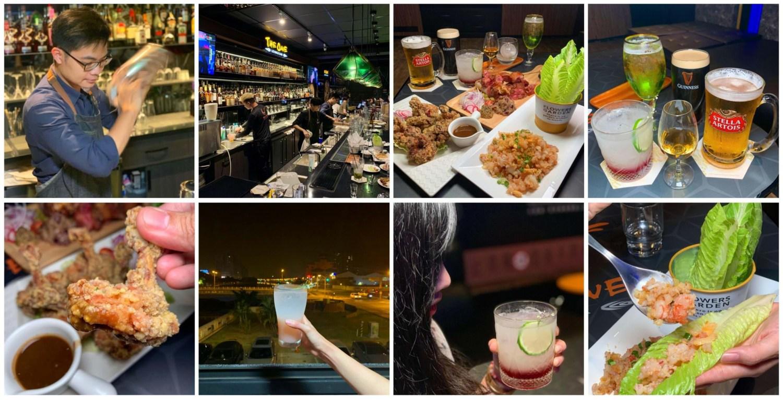 [台南美食] The ONE Lounge Bar – 可以欣賞安平運河的酒吧和餐酒館
