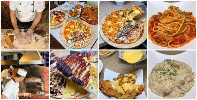 [台南美食] Double Cheese台南成大店 – 歡樂滿分!披薩、炸雞和義式美食吃到飽